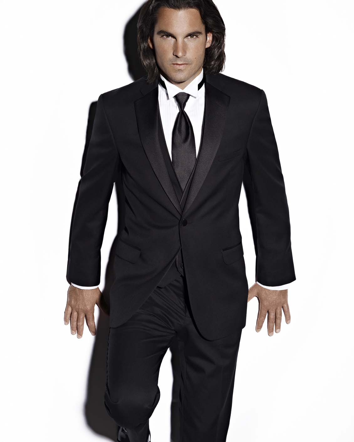 Tuxedo.ca - JEAN YVES MODERN ESSENTIAL BLACK TUXEDO