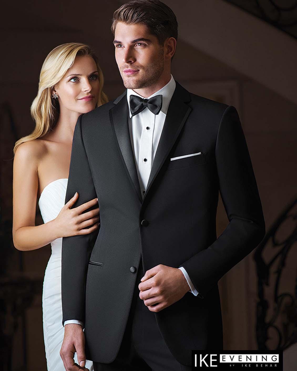 Tuxedo.ca - IKE BEHAR EVENING Black