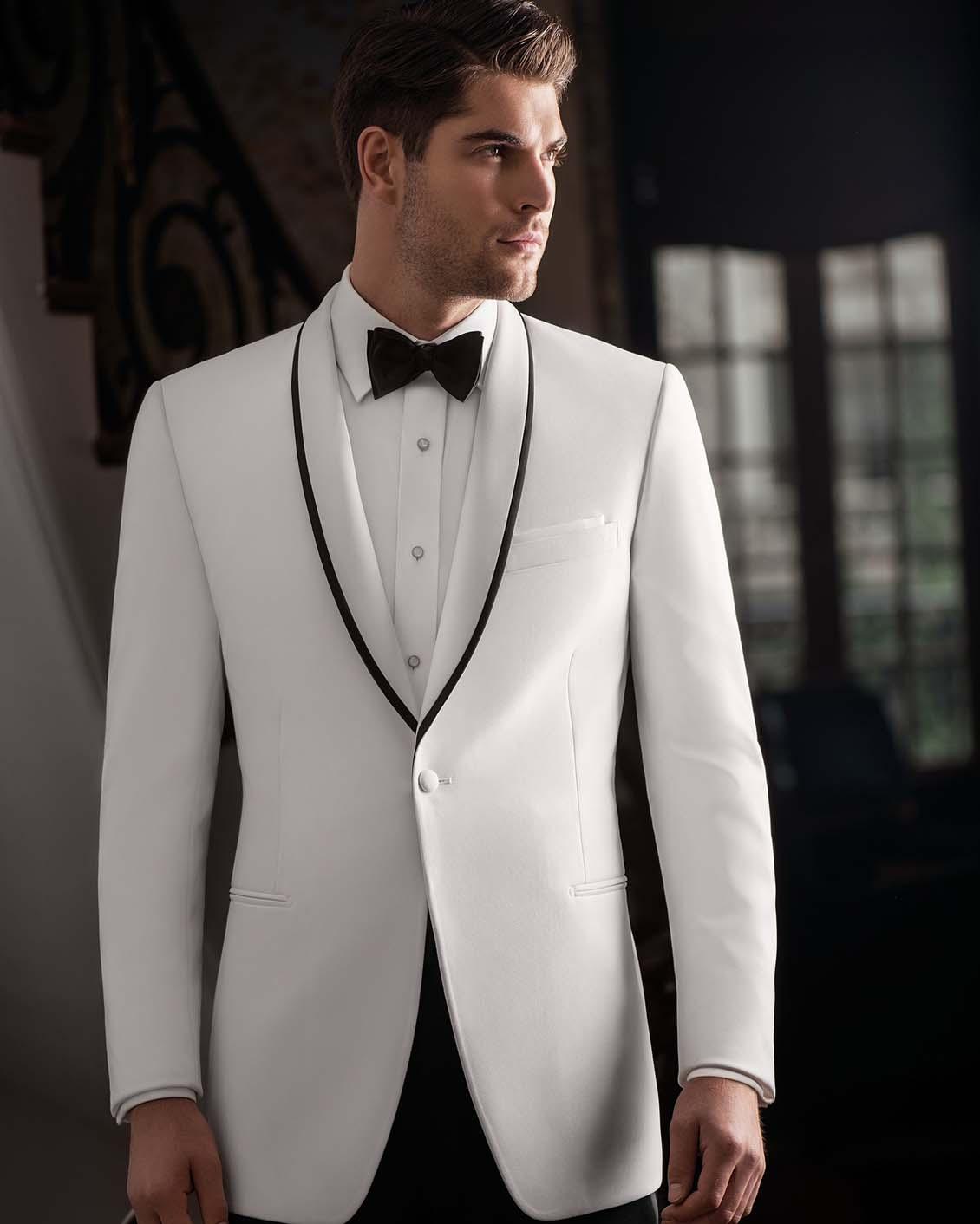 Tuxedo.ca - IKE BEHAR EVENING White Tuxedo