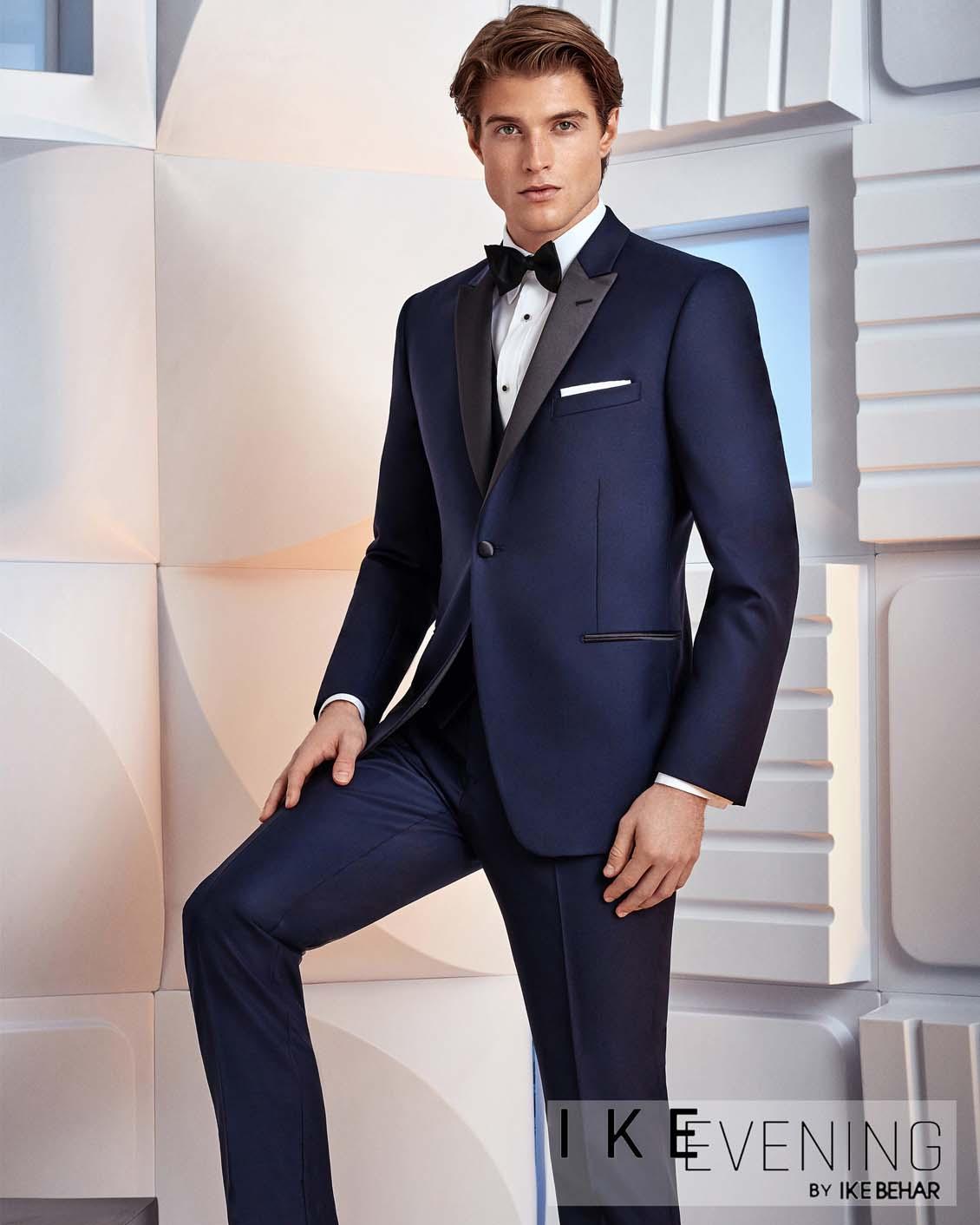 Tuxedo.ca - IKE BEHAR BLAKE BLUE Tuxedo