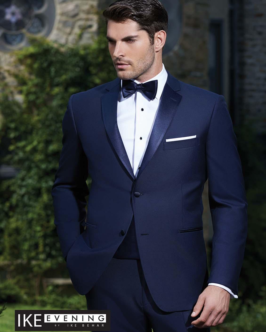 Tuxedo.ca - IKE EVENING SEBASTIAN Blue Tuxedo