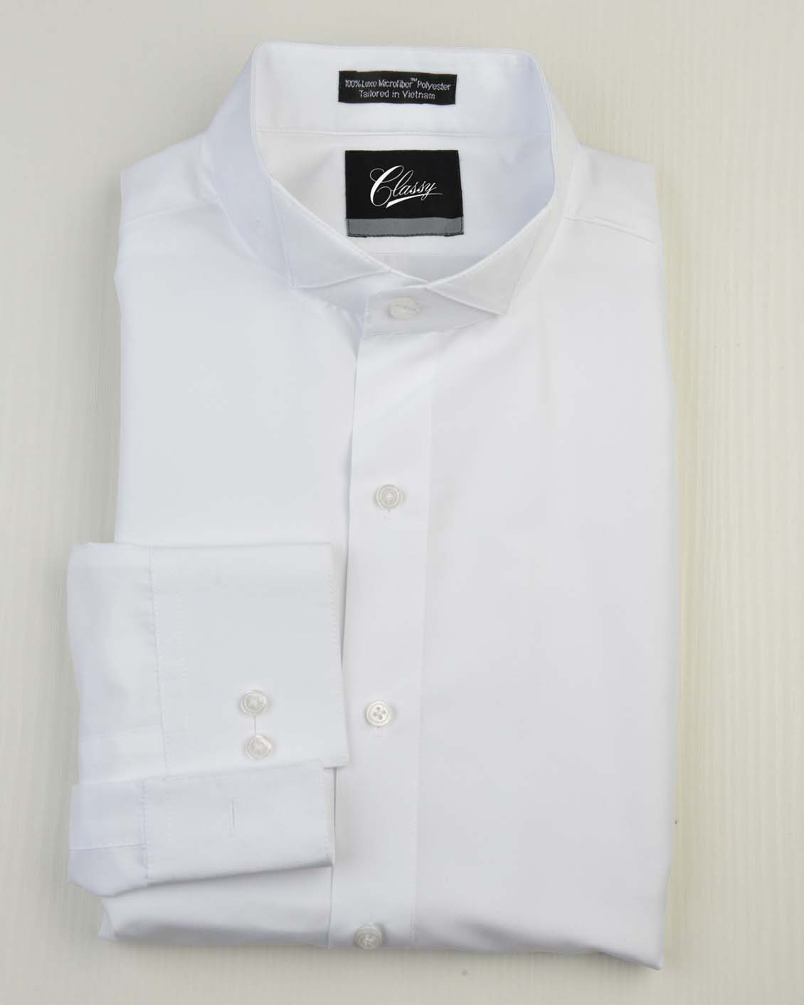 Tuxedo.ca - Microfiber Wing Tip Shirt