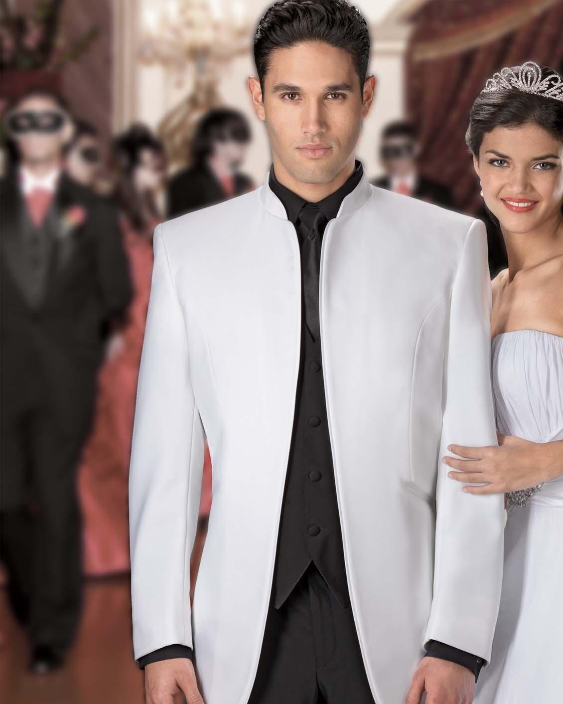 Tuxedo.ca - JEAN YVES Mirage WHITE Tuxedo