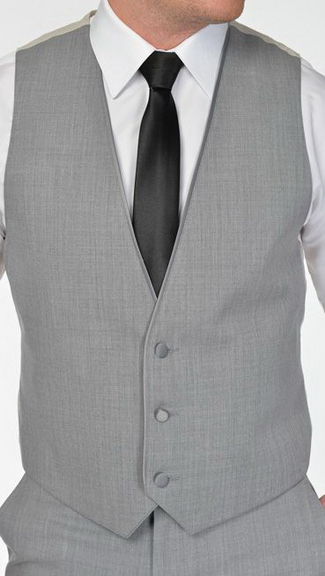 Tuxedo.ca - Heather Gray Vest