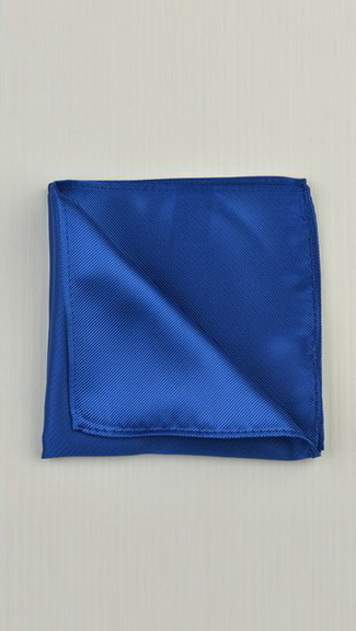 Tuxedo.ca - Royal Blue Pocket Square