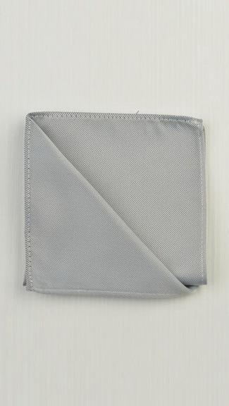 Tuxedo.ca - Platinum Pocket Square