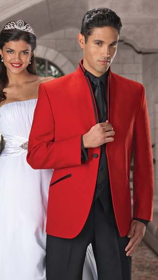 Tuxedo.ca - JEAN YVES Mirage RED Tuxedo