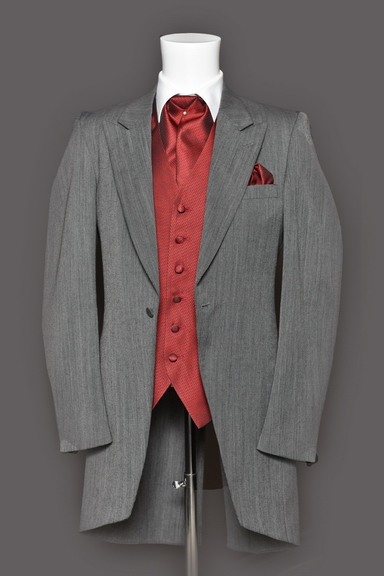 Tuxedo.ca - Grey Morning Suit Pierre Cardin