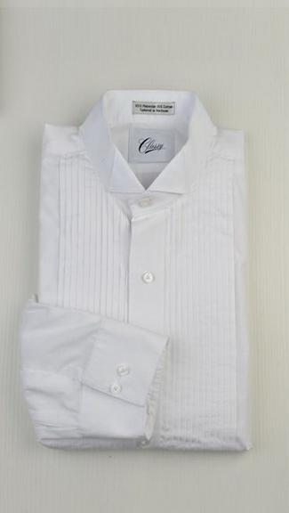 Tuxedo.ca - Cotton Wing Tip Shirt