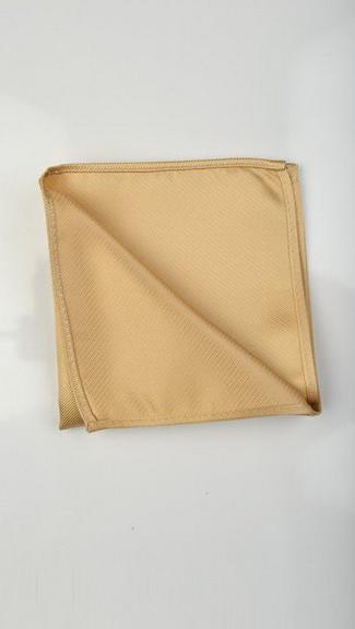 Tuxedo.ca - Champagne Pocket Square