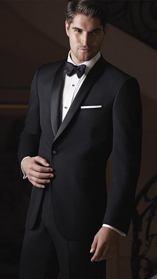Tuxedo.ca - IKE BEHAR Braydon BLACK Tuxedo