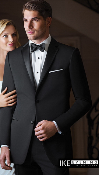 Tuxedo.ca - IKE BEHAR EVENING Black