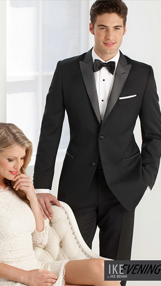 Tuxedo.ca - PERRY ELLIS Evening Black Tuxedo