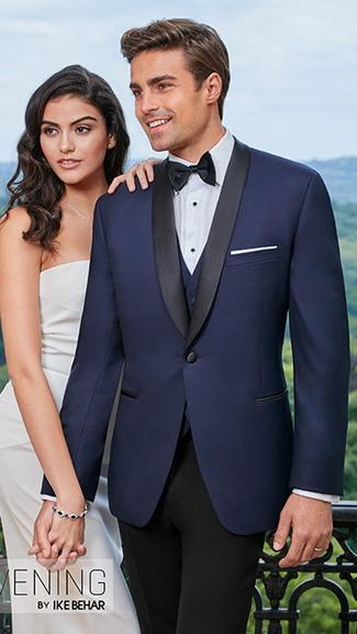 Tuxedo.ca - IKE BEHAR Hudson BLUE Tuxedo