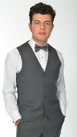 Tuxedo.ca - Charcoal Madison Vest