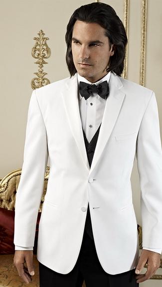 Tuxedo.ca - JEAN YVES WHITE DINNER JACKET
