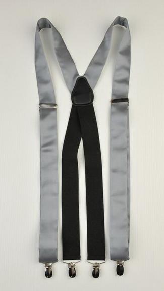 Tuxedo.ca - Suspenders  Grey